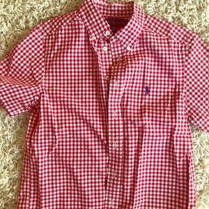 Boys Ralph Lauren size medium shirt